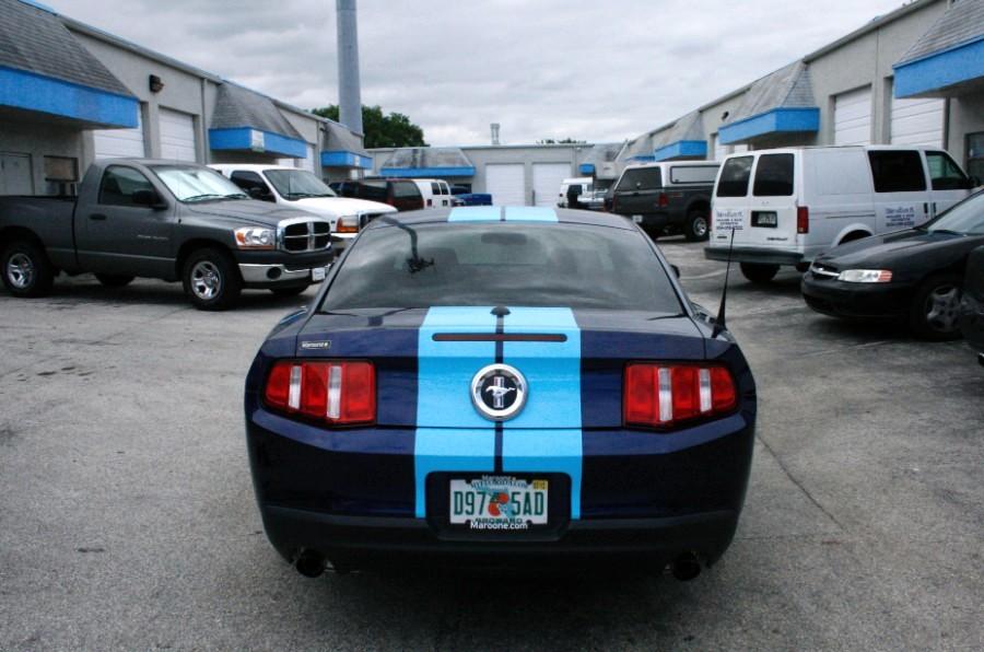Boca Raton Ford Mustang Racing Stripes