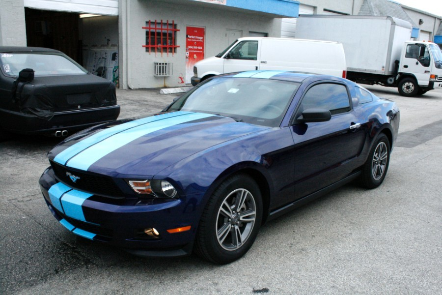 Ford Mustang Racing Stripes West Palm Beach