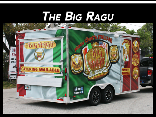 Concession Food Trailer Vinyl Wrap Weston Florida