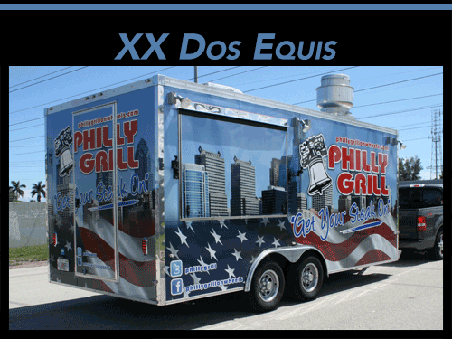Concession Trailer Wrap Boca RatonFlorida