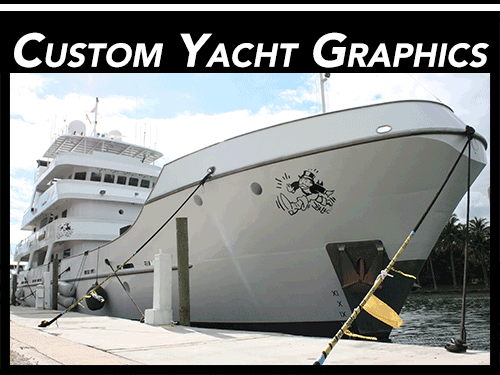 Fort Lauderdale Custom Yacht Graphics