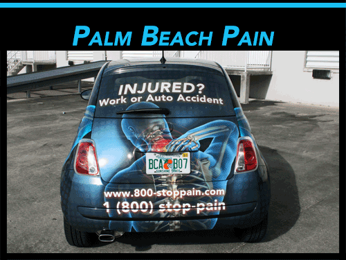 West Palm Beach Fiat 500 3M Car Wraps
