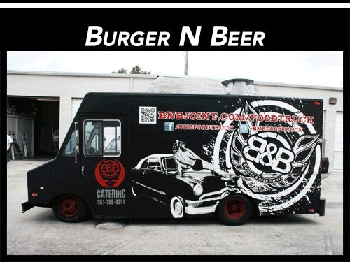 Step Van Food Truck Wrap Fort Lauderdale Florida