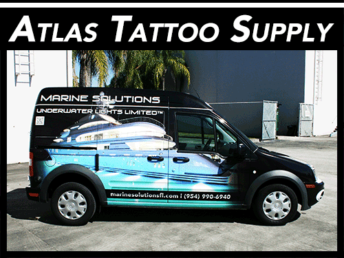 Ford Transit Connect 3M Vehicle Wrap Davie Florida