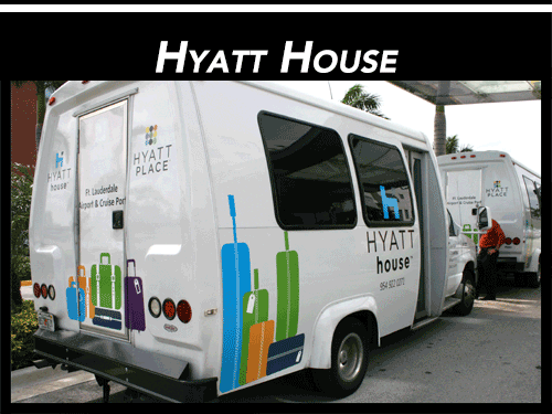 Shuttle Vinyl Wrap Graphics Fort Lauderdale Florida