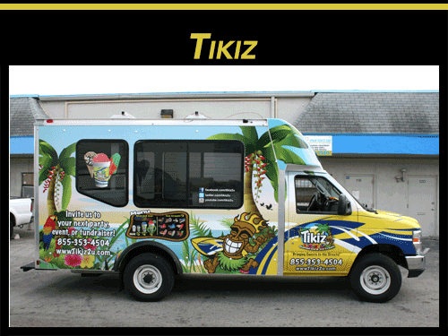 Ice Cream Truck Vinyl Vehicle Wrap Davie Florida
