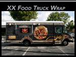 Food Truck Wrap Miami Florida