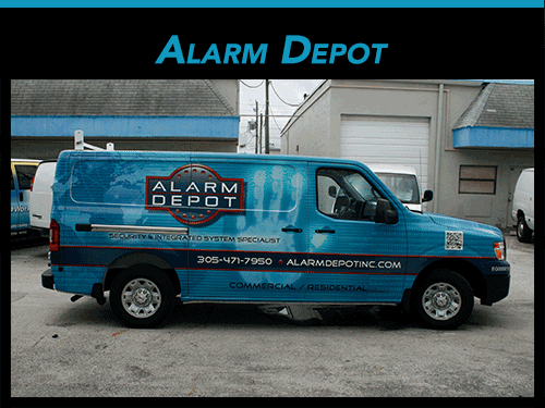 Miami Nissan NV Cargo Van 3M Vehicle Wraps