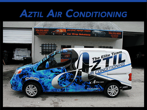 Nissan NV Van 3M Vinyl Vehicle Wraps Boca Raton Florida