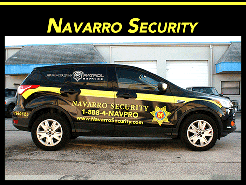 Fort Lauderdale security patrol vehicle vinyl graphics