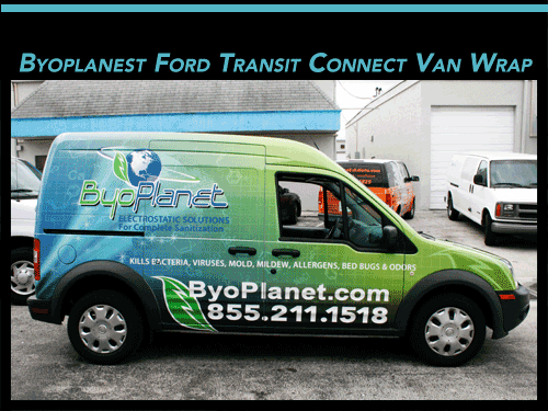Van Wrap Sunrise Florida