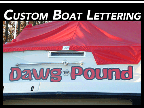 davie florida vinyl boat lettering decals