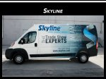Ram Promaster Van Wrap Advertising Davie Florida
