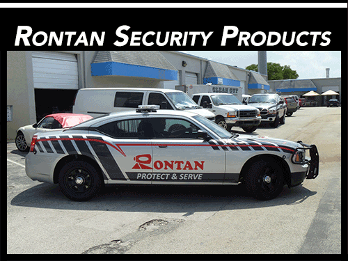 Miami Florida security demo vehicle vinyl decals