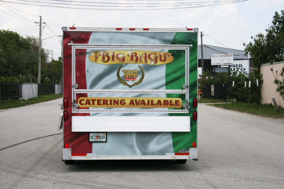 How Big Is A Food Truck