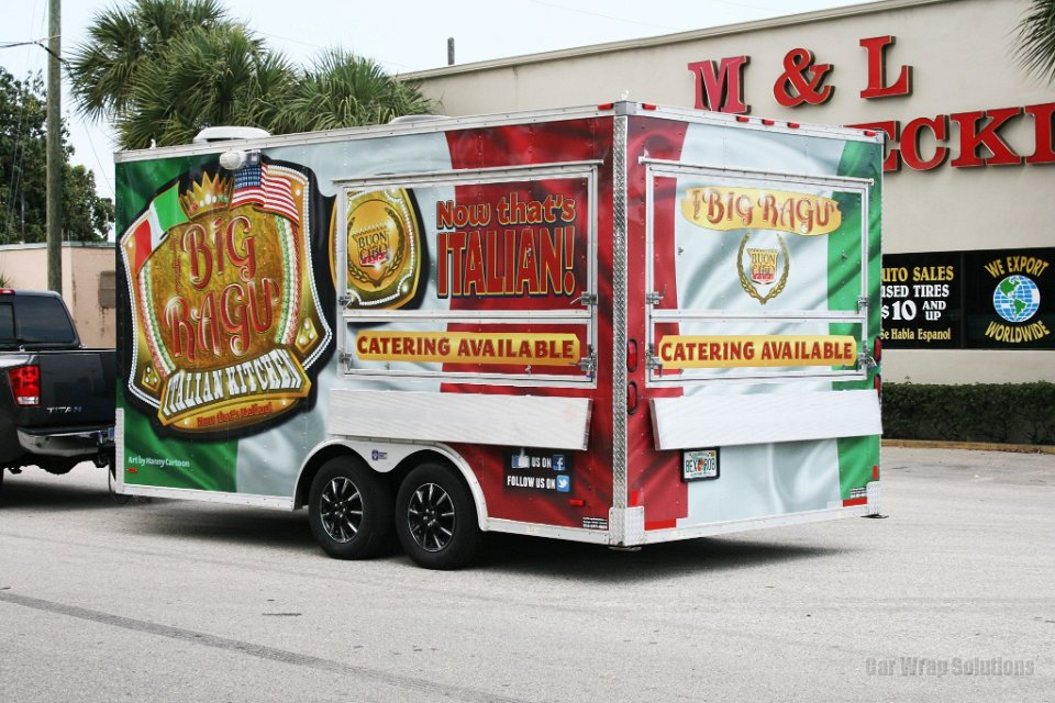 Want To Vinyl Wrap Your New Trailer Car Wrap Solutions