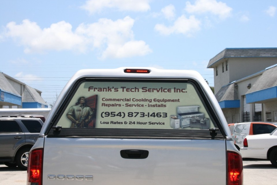 Window wraps see through window perf window decal fort lauderdale miami palm beach