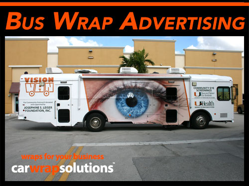 Commercial Vehicle Wraps for Buses & Transit Vehicles