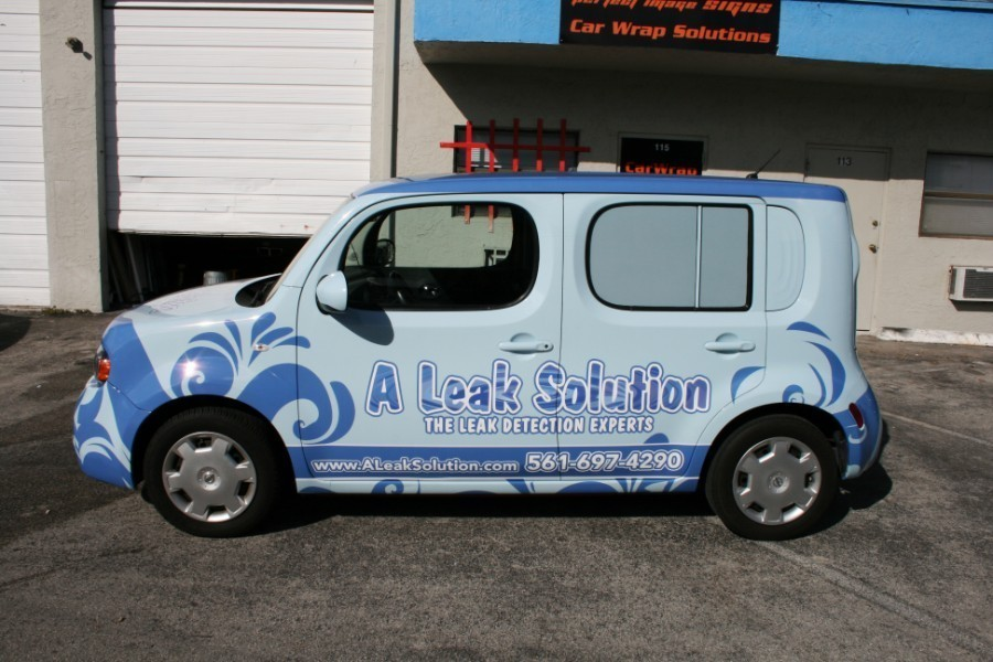 A Leak Solution Vehicle Wrap Lake Worth Florida