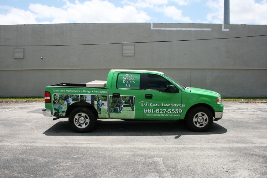Fort Worth Ford Truck Car Wrap Solutions