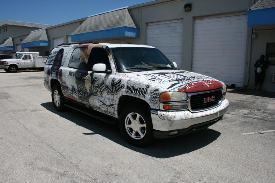 Hip Hop Car Wrap Palm Beach Gardens Florida