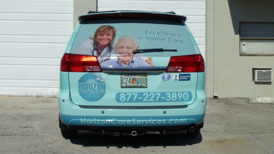 Home Health Care Toyota Suv Vinyl Wrap Deerfield Beach