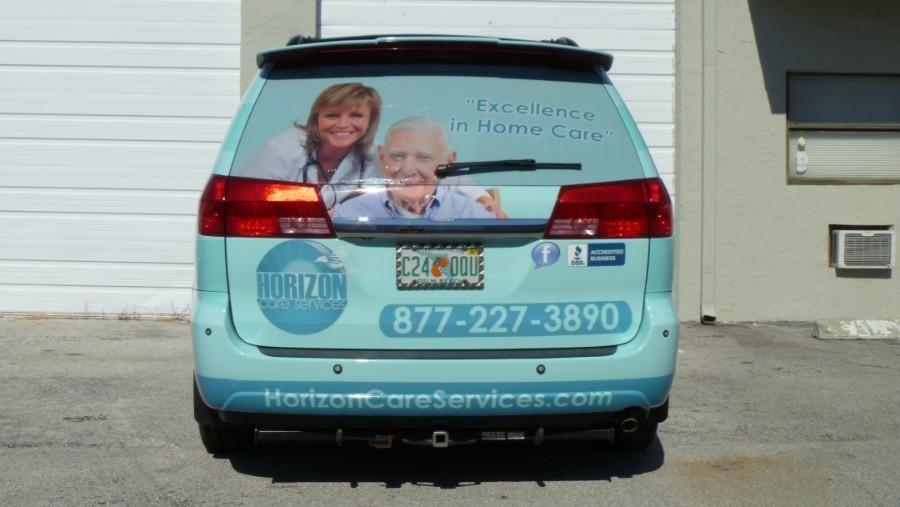 Home Health Care Toyota Suv Vinyl Wrap Deerfield Beach