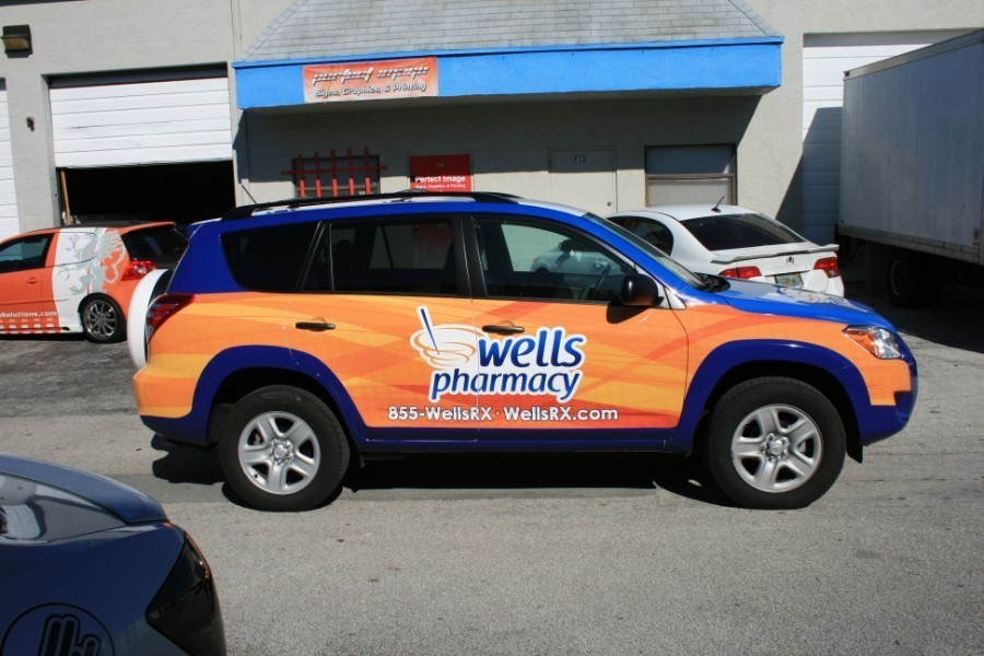 Toyota Rav 4 Car Wrap West Palm Beach Florida