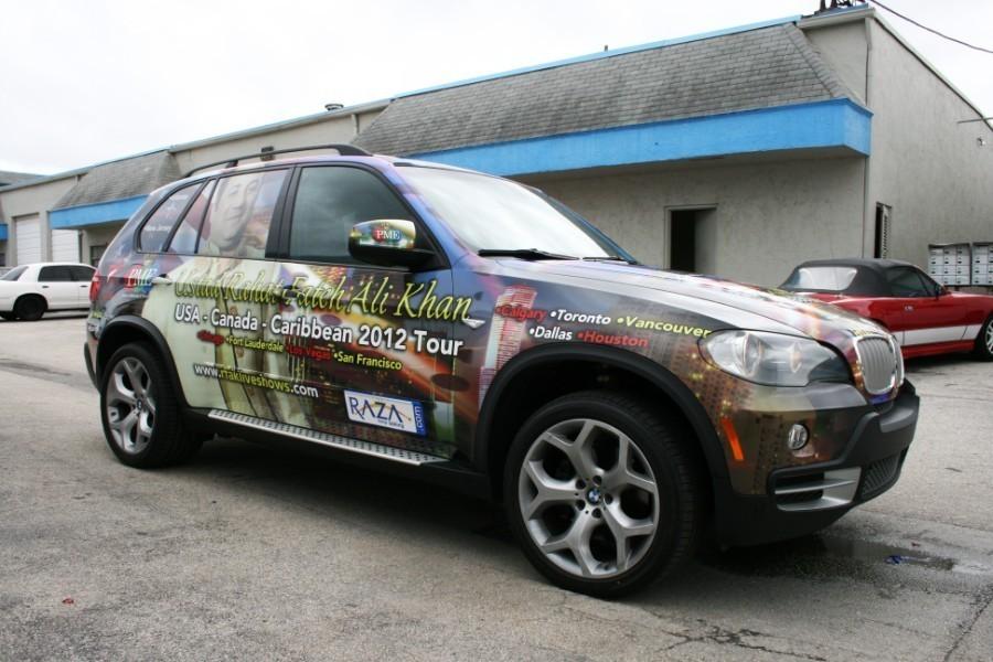 Fort Lauderdale Car Wraps Bmw X3