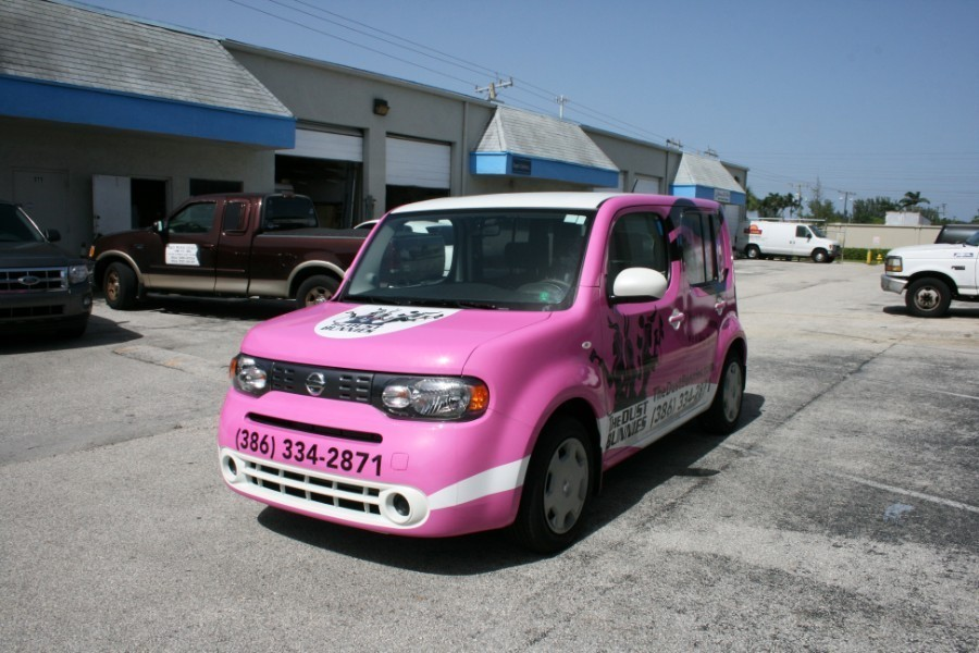 Car Wrap Vinyl >> fort lauderdale celaning company car wrap