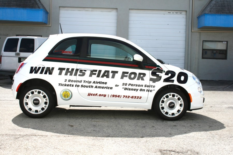Car Wrap Vinyl >> jessica jennifer cohen foundation car wrap