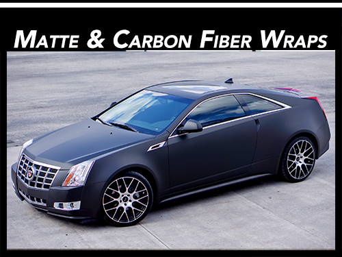Matte & Carbon Fiber Vinyl Car Wraps