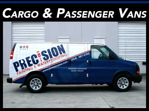 Ford, Dodge, Chevrolet Commercial Van Wraps & Graphics Fort Lauderdale, Miami, West Palm Beach, Florida