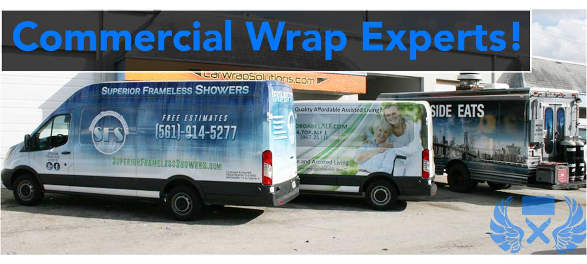 Commerical Car Wraps & Truck Lettering Dania Beach Florida
