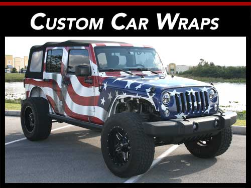 Custom Car Wraps Miami, Fort Lauderdale, West Palm Beach, Florida