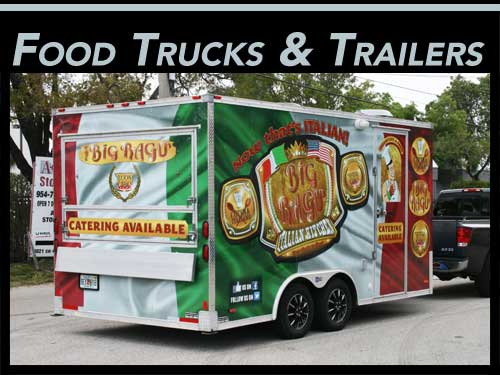 Miami, Fort Lauderdale, West Palm Beach, FL Food Truck & Concession Trailer Vinyl Wraps & Graphics