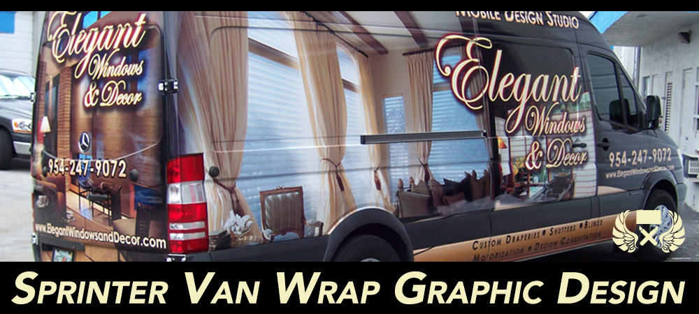 Mercedes-Benz|Freightliner|Dodge|Sprinter Van Wraps & Graphics