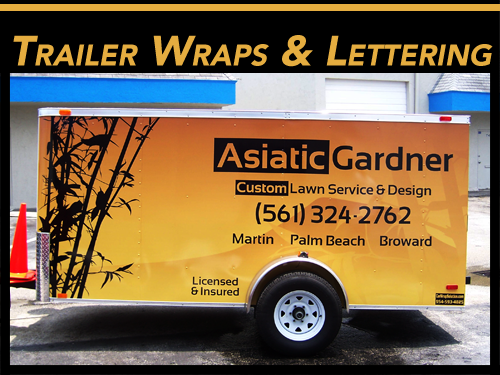 Trailer Wraps & Graphics