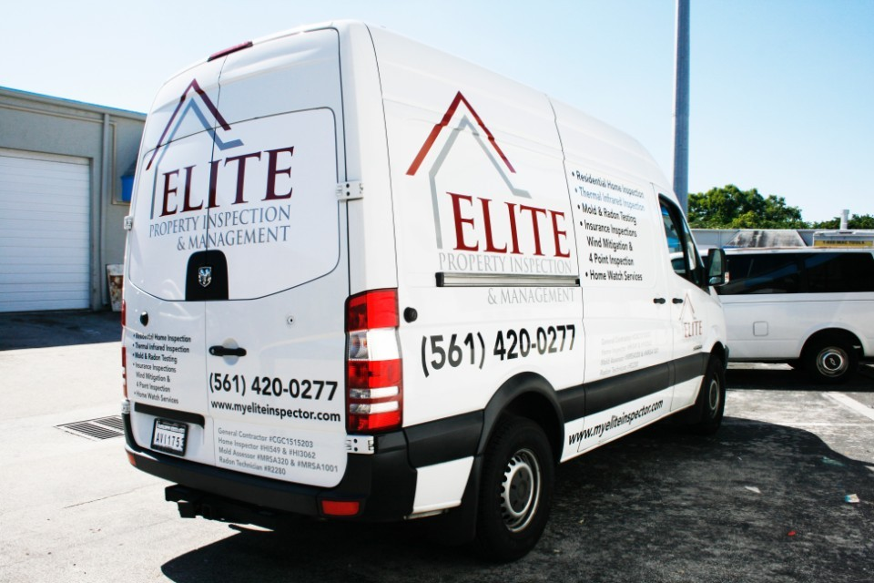 Mercedes Benz Sprinter Van Wrap West Palm Beach Florida