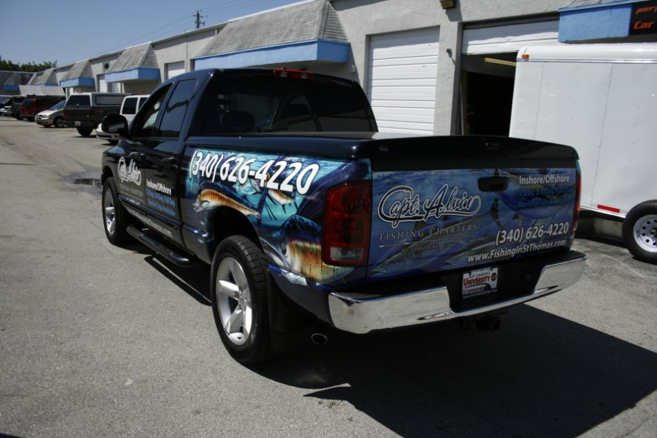 Truck Wrap Graphics Davie Florida