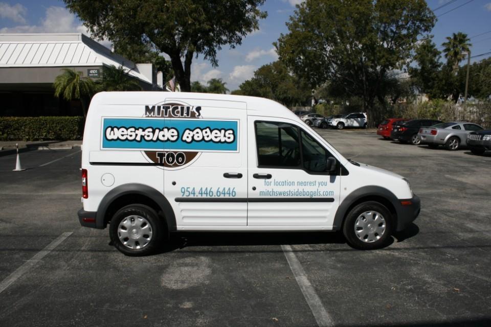 ford transit connect vehicle wrap weston florida. Black Bedroom Furniture Sets. Home Design Ideas