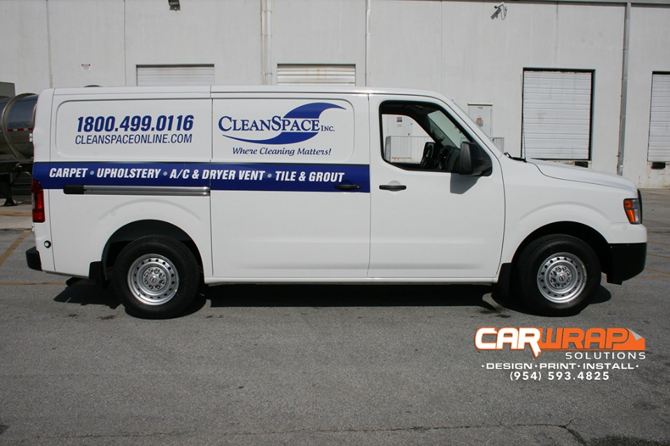 Ford Transit Connect Van Wrap