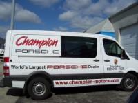 Freightliner Sprinter Advertising Wrap For Champion