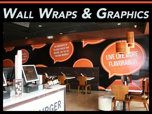 Wall Wraps & Wall Murals for Miami, Fort Lauderdale, West Palm Beach, FL