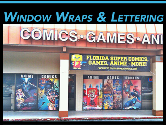 Store Front Retail Signs & Graphics